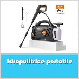 idropulitrice portatile