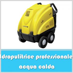 idropulitrice professionale acqua calda
